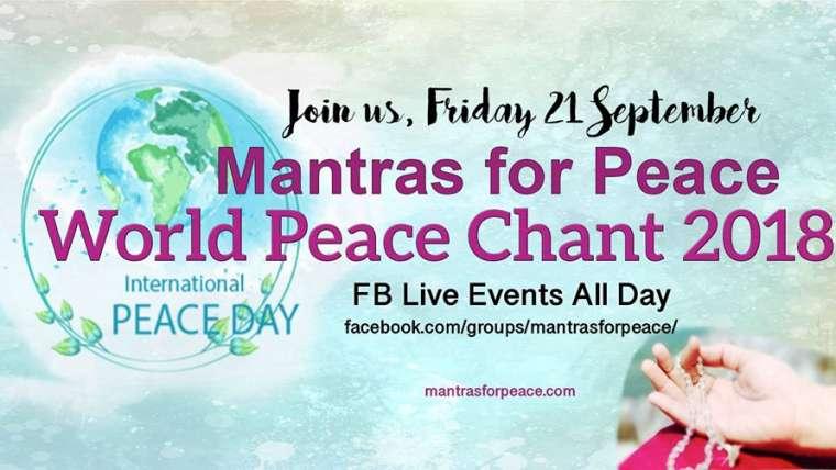 Mantras por la paz