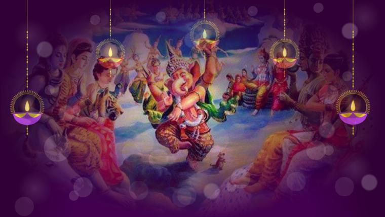 Canto de mantras: en Noviembre Ganesha, Kali, Shiva y Jaya Guru